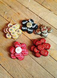 Immense Beauty In Bottle Cap Crafts Ready For Your Decor