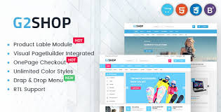 Digital ECommerce OpenCart Theme G2shop