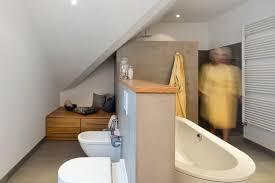 pflege und wc bereich wurden durch eine mauer separiert