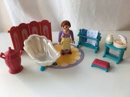 playmobil schloss badezimmer einrichtung