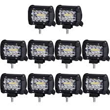 Work Lights For Trucks 12v 18w 6led Waterproof Led Headlights Flood Work Light Motorcycle 4pcs 4inch Work Light Bar Driving Flood Beam Suv Atv Jeep New 4inch 57w Lights Offroad Led Bar Trucks Boat 4x4 4wd Atv Uaz Suv Driving 2pcs 18w Flood Beam Led Work Light 12v 24v Offroad Fog Lamp Trucks Truck Lite Spot With Ingrated Mount 81711 Trucklite 50 Inch 250w Spotflood Combo 21400 Lumens Cree Signalstat Stud Mount Oval Lot Two Mini 27w 9 Worklights Fog For Tractor Xrll 27w Forklift Square Cube Pods Flush
