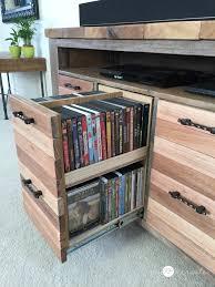 reclaimed wood media console my love 2 create