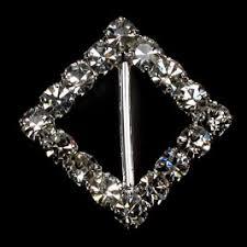 Diamante Chair Sash Buckles by Diamante Buckles