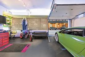 Wolf of Wall Street Apartment With a Tricked Out Private Garage