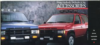 100 Truck And Van Accessories 1988 Nissan S Genuine Brochure NICOclub