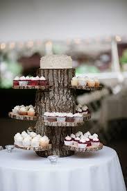 Woodland Wedding At Benmarl Winery New York Cupcake TreeCupcake StandsWood