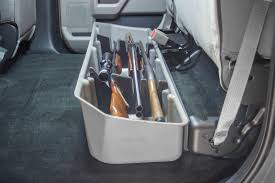 2017-2018 F250 & F350 Super Crew DU-HA Underseat Storage Unit/Gun ... The Best Gun Storage Aftershot Nissan Truck Accsories Recoil Locker Down Long Solutions Odyssey Weapons Security Vaults Secure On The Trail Tread Magazine Chevy Back Of Seat Mount Kit For Ar Rifle Mount Gmount Vehicle Safe Youtube Fast Box Model 40 Secureit 2007 Avalanche Gun Storage Mod Hatsan Escort Shot And Lvadosierracom How To Build A Under Seat Box Howto New Car Shotgun Holder Sling Rack