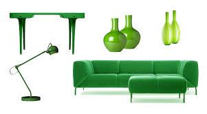farbe grün bei der raumgestaltung als wandfarbe richtig