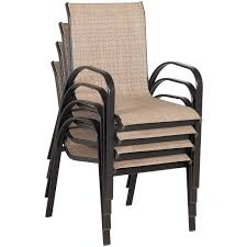 Aluminum Sling Stackable Patio Chairs by 28 Outdoor Sling Chairs Furniture Patio Sling Fabric