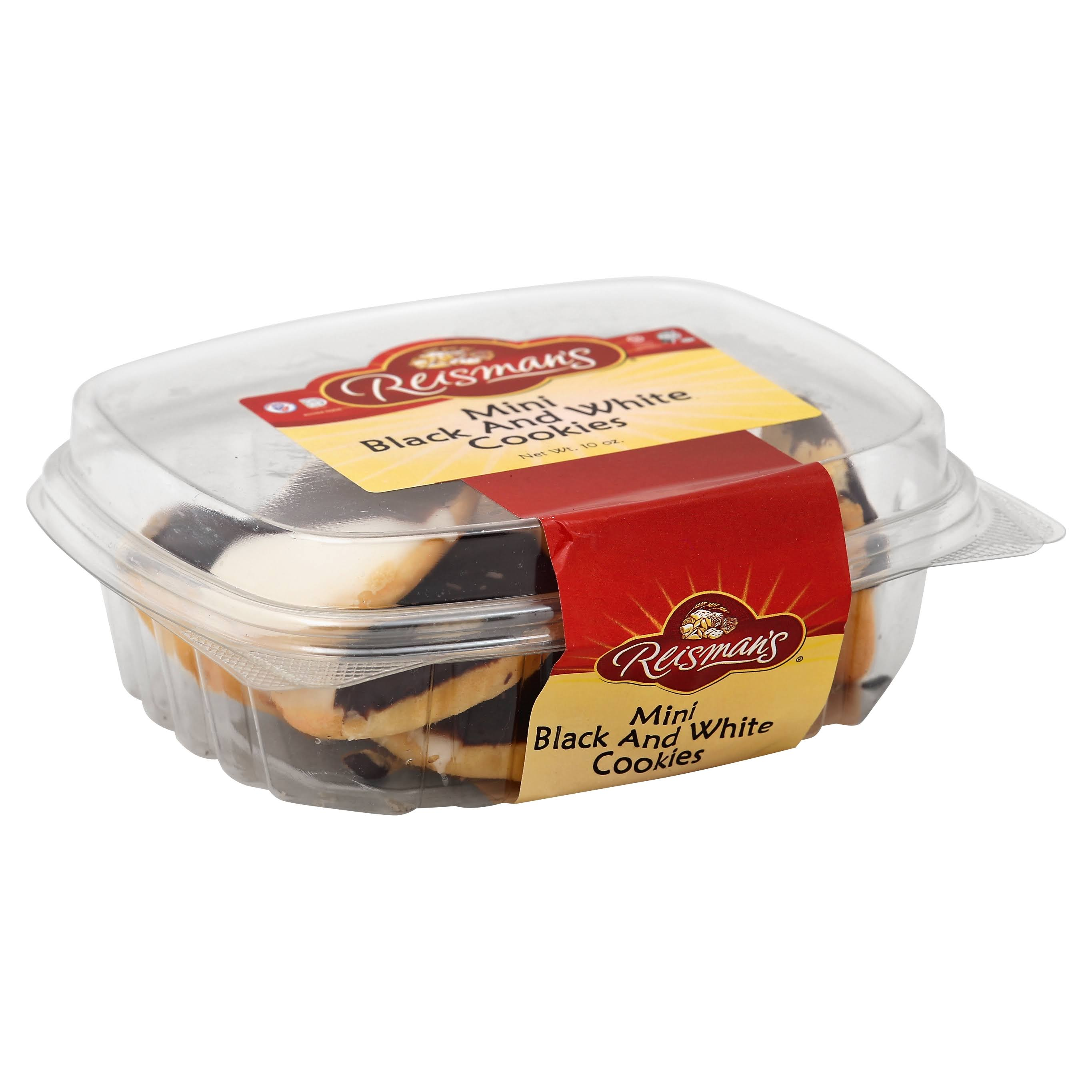 Reismans Brothers Bakery Mini Black and White Cookies - 10oz