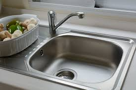 Unclogging A Kitchen Sink With A Disposal by Why Does My Kitchen Sink Smell And What Should I Do