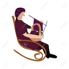 Grandmother In A Rocking Chair Knitting Royalty Free Cliparts ... Vintage Crewel Embroidery Pattern Wooden Rocking Chair Knitting Burwood Wall Art Of With Bowl Yarn Rocking Chair Yoko No Wdka Online Shop With Plaid And For Near Grandma Sitting Stock Photo Edit Now Pregnant Woman Stock Photo Image Attractive Green 45109220 Auguste Edouart French 17891861 Silhouette Of A Woman Seated In Menu Ambientedirect Royal Doulton Twilight Hn2256 Old Knitting Ingenious Hats While Reading Fubiz Media Smiling Woman On Balcony Menus Serves Not Only Knitters But Also Bookworms
