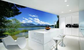 3 glasbilder in der küche homify