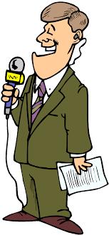 Kid News Reporter Clipart