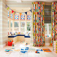 Fabrics For Curtains Uk by Wallpaper And Fabric Design Updates For Kids U0027 Rooms Ideal Home