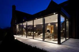 100 Glass House Project Contemporary Extension Warwickshire Rigby Rigby
