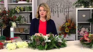 Winterberry Christmas Tree Home Depot by Winterberry Christmas Wreath U0026 Centerpiece An Annie U0027s Video