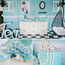 Baby Shower Ideas Breakfast At Tiffanys Baby Shower Tea Party