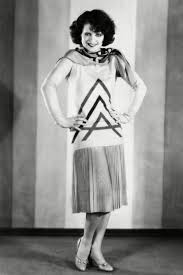 Heres One Of The Original IT Actresses Clara Bow Modelling An Ideal 1920s Fashion Look Ultimate Flapper Girl She Looks Ready To Break Into A