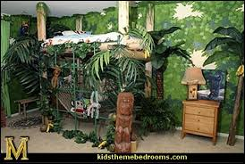 Charming Design Jungle Themed Bedroom Decorating Theme Bedrooms