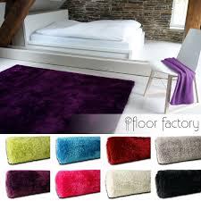 moderner flauschig weicher hochflor teppich seasons ebay