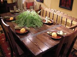 Build A Dining Table From Salvaged Materials