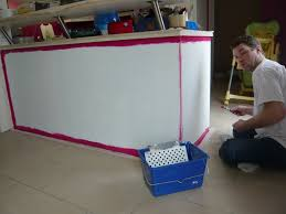 peinturer un comptoir de cuisine comptoir de cuisine nos rénos décos