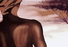 wandbilder leinwand bilder wohnzimmer afrika baum frauen