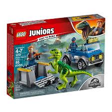 LEGO 10757 Raptor Rescue Truck Juniors JURASSIC WORLD – BrickBuilder ...