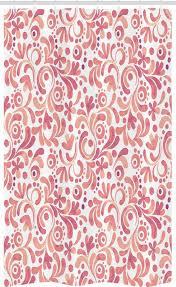 abakuhaus duschvorhang badezimmer deko set aus stoff mit haken breite 120 cm höhe 180 cm aquarell pastell botanik kaufen otto