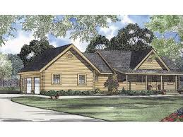 Log Hollow Rustic Ranch Home HOUSE PLAN
