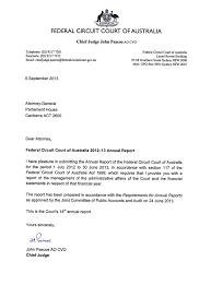 Federal Circuit Court Of Australia Annual Report 201213