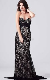 black formal cheap graduation dresses at j c penny long