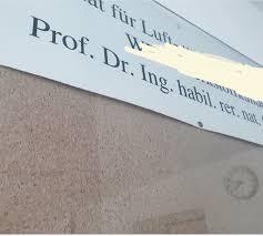 Anrede Brief Dr Prof