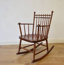Antique Arts & Crafts Rocking Chair 1920s * Free Delivery To Mainland  England & Wales *