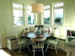Dining Room Table Bench Seat Covers Kitchen Height Extraordinary Corner Drop Dead Gorgeous With Build Storage