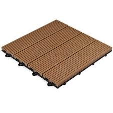 deck tiles outdoor wood plastic decking tile