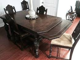 Antique Dining Room Buffet 4 Of 5 Republic Table With And Chairs Etsy Vintage