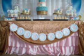Gold Pumpkin Carriage Centerpiece by Cinderella Birthday Party Ideas Pretty My Party