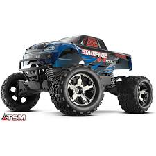 Traxxas 67086-3-BLUE: Stampede VXL 4x4 Brushless Monster Truck 1 ... Traxxas Nitro Sport Stadium Truck For Sale Rc Hobby Pro 116 Grave Digger New Car Action 110 Scale Custom Built 4linked Trophy Adventures Traxxas Summit Running Video 4x4 With Erevo Brushless The Best Allround Car Money Can Buy Bigfoot No1 2wd 360341 Blue Big Foot Monster Toys R Us Australia Join Trucks For Tamiya Losi Associated And More Dude Perfect Edition Garage Bj Baldwins