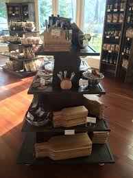 Gourmet Rustic Wood Retail Store Fixture Gondola Ideas Awesome Display Custom Staining Available