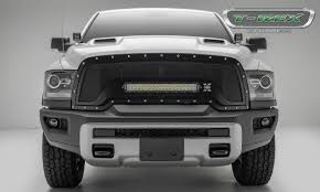 T-Rex Truck Products Introduces Tough New Grille Designs For 2015 ... For 9402 Dodge Ram Diamond Mesh Front Upper Bumper Grille Guard 10 Modifications And Upgrades Every New Ram 1500 Owner Should Buy 0205 Hs Polished Stainless Spiderweb Insert Status Grill Custom Truck Accsories Pu All Models Billet 1 Pc Full Custcargrillscom Car Grills Mopar 5uq43rxfab Rebel 32018 Install New Grill In 2500 Laramie Youtube Steelcraft 502260 23500 02018 0305 3500 Black