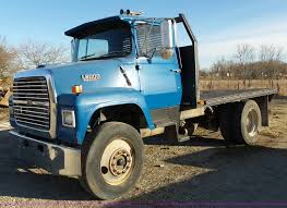 1987 Ford LN8000 Flatbed Truck | Item BL9677 | SOLD! March 2...