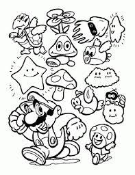 Coloriage Mario Kart Yoshi Super Mario Coloring Pages Part 1 18