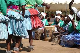 Tsonga Shangaan Women Performing A Traditional Dance C JJ Van Zyl WikiCommons