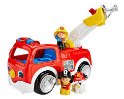 Fisher-Price Little People Lift 'n Lower Fire Truck | Toy ... Amazoncom Fisherprice Little People Dump Truck Toys Games Servin Up Fun Food Youtube Power Wheels Ford F150 Will Make You Want To Be A Kid Again Laugh Learn Amazon Kids Buy Thomas The Train Wooden Railway Troublesome Trucks Paw Patrol Fire Battery Powered Rideon Serving Fisher Price Little Wheelies New In Box 1000 Giggling 2pack Fisher Price And Online Friends Adventures