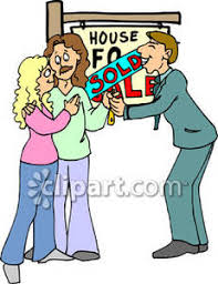 Clipart House Sale Sign