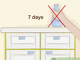 How to Paint Laminate Furniture 13 Steps with