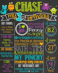 Chalkboard Poster Board Best 25 Ideas On Pinterest Birthday