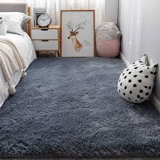 nordic ins schlafzimmer kleine teppich weiß plüsch nacht